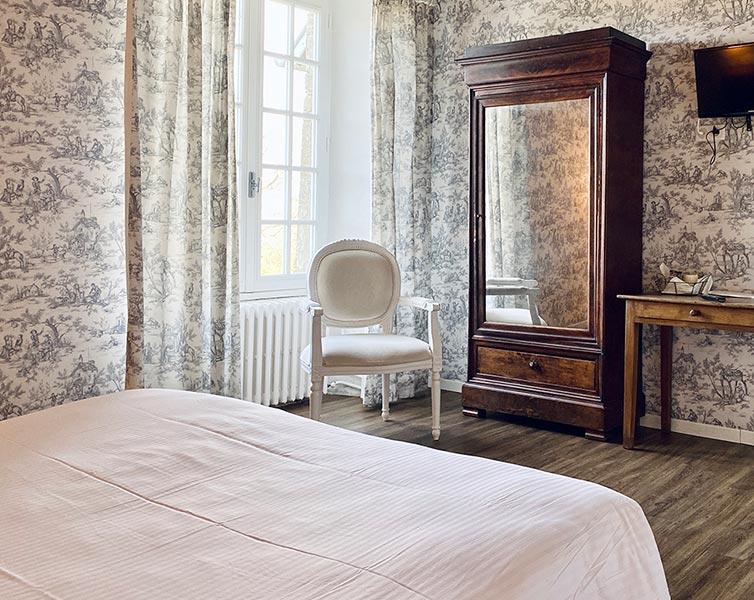 Hébergement - Chambres Twin, Château de la Roque