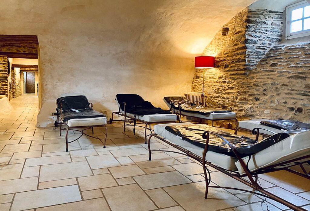 Château de la Roque, Salle de massage