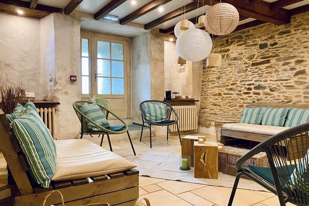 Château de la Roque, Relaxation