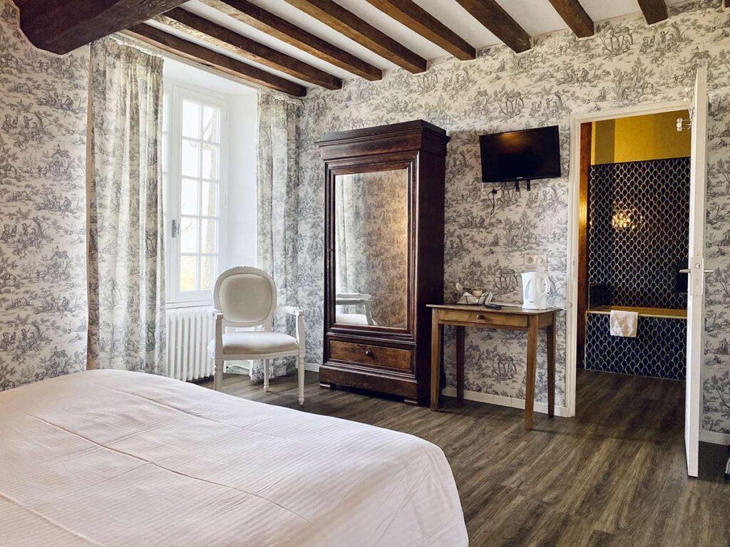 Chambres Twin, Château de la Roque