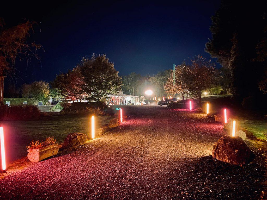 Éclairage extérieur Orangerie